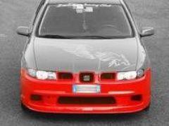 Parachoques delantero + spoiler pequeño Seat Leon kit Evoluzione