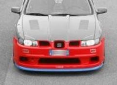 Parachoques delantero + spoiler grande Seat Leon kit Evoluzione