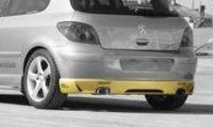 Añadido Parachoques trasero Peugeot 307 Kit Sport Cadamuro