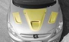 Entradas aire capo Peugeot 307 kit MARANELLO Evoluzione Cadamuro
