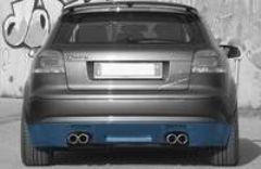 Añadido Spoiler Parachoques trasero Audi A3 2000- kit Cadamuro