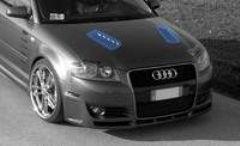 Entradas de aire capo Audi A3 kit Formula Cadamuro