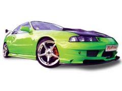 Abultamiento de capo en fibra Honda Prelude Kit P&A tuning