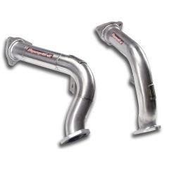 Downpipe (Iz + Der) (Suprime Catalizador de serie) AUDI A6 ALLROAD QUATTRO 3.0 TFSI V6 (310 Cv) 2012 -