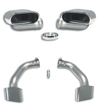 Kit Colas de Escape (Iz + Der) Oval 145x75 BMW E70 X5 30sd 08 - 09