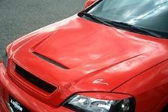Capo con entradas aire para Opel Astra Coupe kit GT R2 Lumma tun