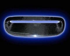 Boca entrada de aire de Carbono para New Mini