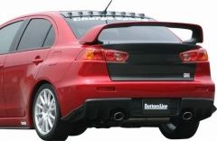 Spoiler Parachoques Trasero Chargespeed para Mitsubishi Lancer Evo X CZ4A Bottomline