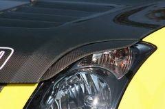 Pestañas para faros delanteros Chargespeed para Suzuki Swift II 05-FRP