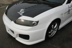 Pestañas para faros delanteros Chargespeed para Hyundai Coupe GK 02-FRP