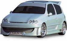 Parachoques delantero Carzone para Renault Clio II 6/98-7/01 Octan