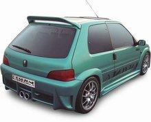 Parachoques trasero Carzone para Peugeot 106 MKII 4/96-Nitro