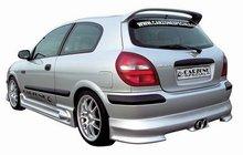 Spoiler parachoques trasero Carzonne para Nissan Almera 00-03 Sirius