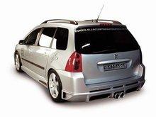 Parachoques trasero Carzone para Peugeot 307 SW Samurai