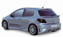 Aleron de maletero Carzone para Peugeot 307 HB 3/5drs Samurai