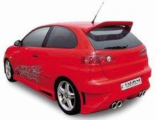 Parachoques trasero Carzone para Seat Ibiza 6L 02-Samurai