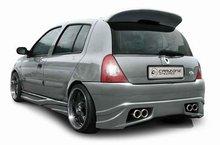 Parachoques trasero Carzone para Renault Clio II 6/98-9/05 Inter