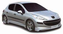 Spoiler parachoques delantero Carzone para Peugeot 207 3/5drs 06-Stream