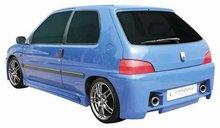 Parachoques trasero Carzone para Peugeot 106 MKI/II 91-03 Vega