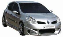 Taloneras faldones laterales Carzone para Renault Clio III 5drs 9/05-Shogun