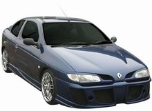 Taloneras faldones laterales Carzone para Renault Megane Coupe 95-99 Intercep