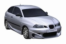 Parachoques delantero Carzone para Seat Ibiza 6L 02-Shogun