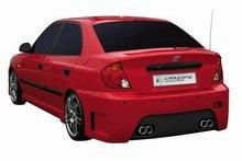Parachoques trasero Carzone para Hyundai Accent 03-05 Apex