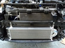 Kit intercooler frontal deportivo Forge para DS3 1.6 TURBO ENGINES para Citroen DS3