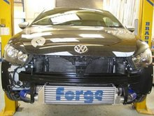 Kit intercooler frontal deportivo Forge para 2.0 TSI para Volkswagen Scirocco 2.0 turbo