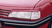 Pestañas faros delanteros para Peugeot 405 ok