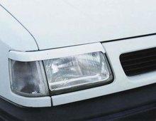 Pestañas faros delanteros para Opel Corsa A 9/90-3/93 o