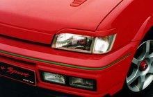 Pestañas faros delanteros para Fiesta III 4/89-ok