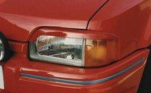 Pestañas faros delanteros para Ford Escort 3/86-9/90 ok