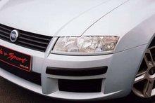 Pestañas faros delanteros para Fiat Stilo 3drs Lower
