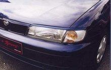Pestañas faros delanteros para Nissan Almera 9/95-3/00