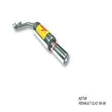 Escape trasero para RENAULT CLIO 1.7 90-