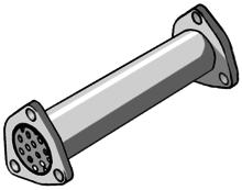 Supresor de catalizador para DAEWOO LANOS 1.4I 8V 75CV 09/97-