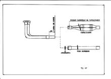 Supresor de catalizador para FORD FIESTA 1.8S 8V 92-95