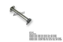 Supresor de catalizador para HONDA CIVIC V 1.6i 16V ESI 125CV 9