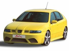 Parachoques delantero Seat Leon kit P&A Tuning