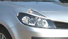 Pestañas para faros delanteros Lester para Renault Clio III 6/05