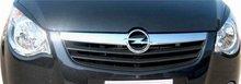 Pestañas para faros delanteros Lester para Opel Agila B 08