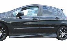 Taloneras faldones laterales deportivas para Peugeot 308