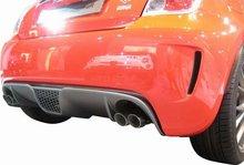 Difusor de Carbono Parachoques Trasero Lester para Fiat 500 Abarth