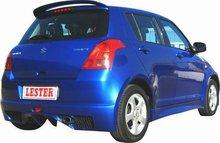 Spoiler Parachoques Trasero Lester para Suzuki Swift 05-