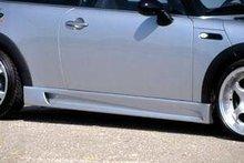 Faldones laterales taloneras Mini Cooper Kit GTS Lumma
