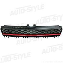 Parrilla sin logo look GTI VW Golf VII negra roja