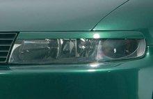 Pestañas focos delanteros Seat Leon 1M 99-05 (ABS)