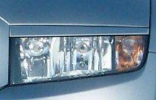 Pestañas focos delanteros Skoda Fabia I 00-07 (ABS)