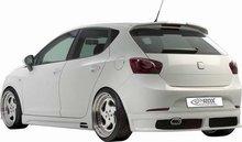 Spoiler parachoques trasero para Seat Ibiza 6J 5prts 6/08- excl. FR/Cupra (ABS)
